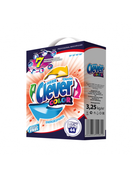 Herr Clever Color 3,25 кг - 44 стирки