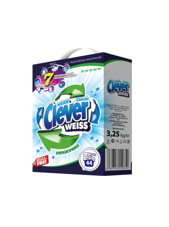 Herr Clever Weiss 3,25 кг - 44 прання