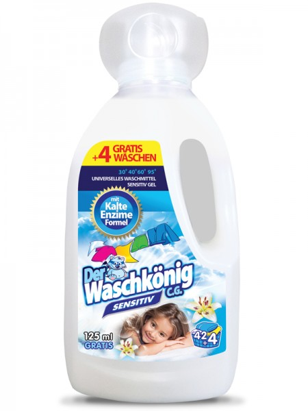 Der Waschkönig Sensitive 1625 мл - 46 стирок