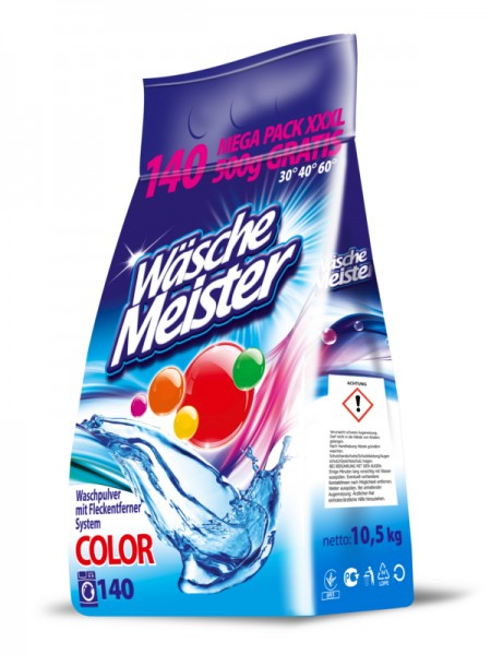 Wasche Meister Color 10,5 кг - 140 стирок