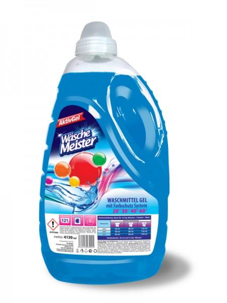 Wasche Meister AktivGel 4130 мл -121 стирка